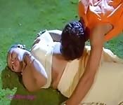 Indische Tante Zeigt Sexy Solo