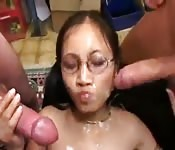 excellent idea ebony japanese handjob dick cumshot for that interfere
