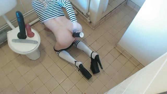 Dildo toilet