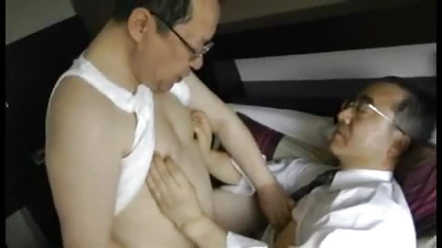 Chubby Japanese Daddies fuck