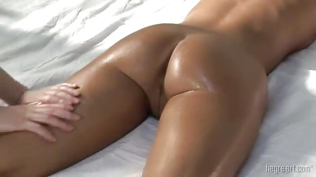 Giving him a strong orgasm