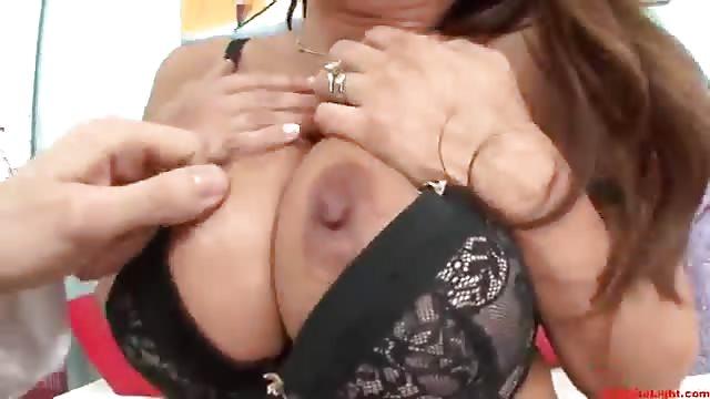 Asian Mother Teaches Son