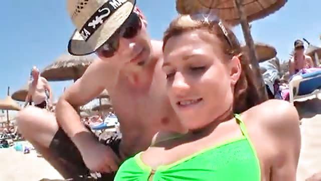 Orgie am strand